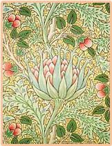 William Morris Wallpaper Artichoke theme